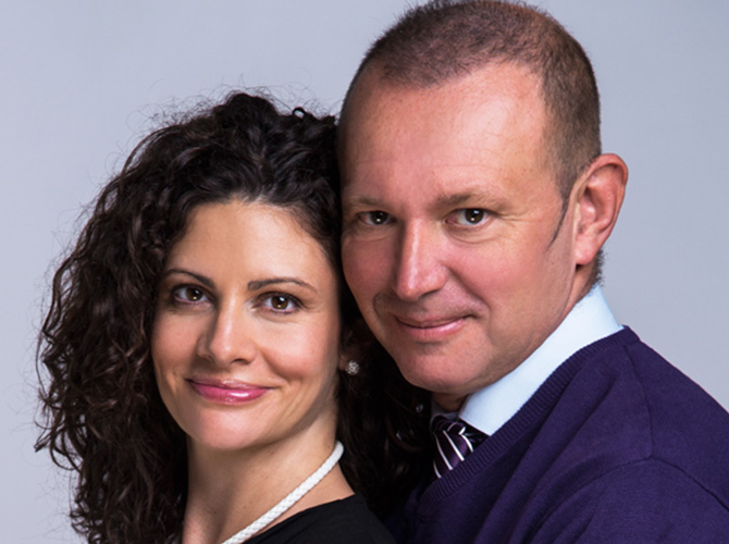 Győrfi Pál és felesége, Dr. Salgó Adrienn a CBC új ügyfele