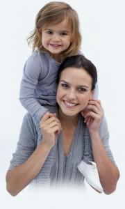 mama a dievčatko